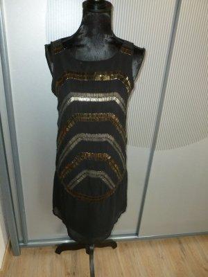Kleid schwarz Steinchen Pimkie