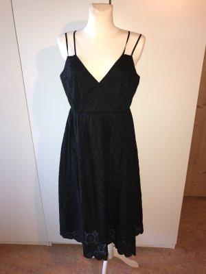 J.crew Midi-jurk zwart Katoen