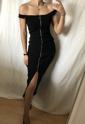 Kleid schwarz Stretch