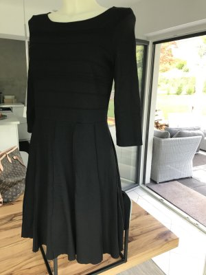 Kleid schwarz Stretch 38 M Vera Mont Boss Robe legere