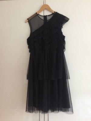 Kleid * schwarz * Tüll * Oneshoulder * Größe 40 * von COS