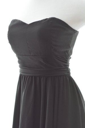 Kleid schwarz Vokuhila