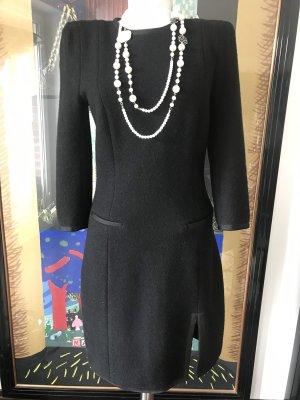 Carven Wollen jurk zwart
