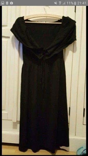 Kleid, schwarz von Stefanel