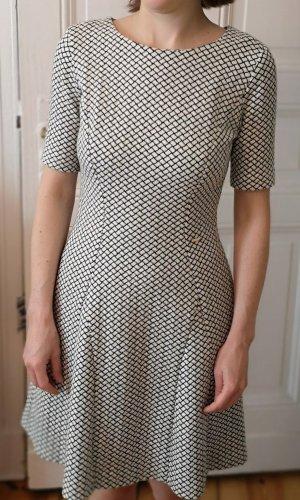 Kleid schwarz weiß 36