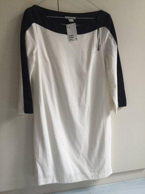 Kleid schwarz weiß H&M Neu
