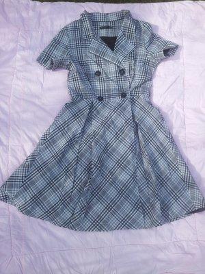 Kleid schwarz weiß Kariert Koton Gr. 42