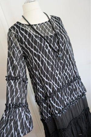 Kleid schwarz/weiß *Religion* Gr. L