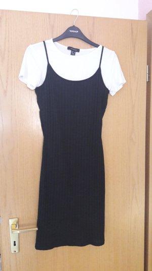 Kleid schwarz weiß von Atmosphere Größe 38