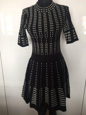 Kleid schwarz, weiß von H&M