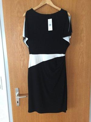 Kleid schwarz/weiß von Ralph Lauren