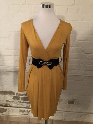 Kleid senffarben neu grösse S M