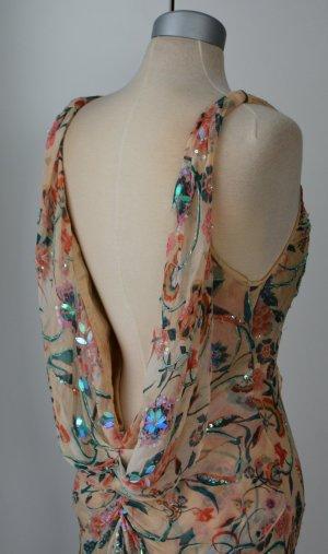 Diane von Furstenberg Vestido de noche multicolor Seda