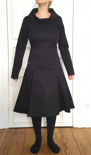 Kleid Skunkfunk schwarz S