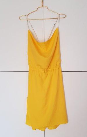 Costume National Midi-jurk geel