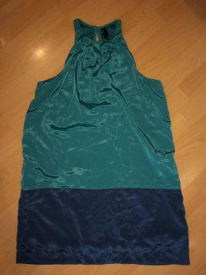 Kleid Smaragd und Blau; top Zustand; 38