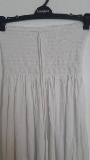 Kleid Sommer Bandeukleid Strandkleid