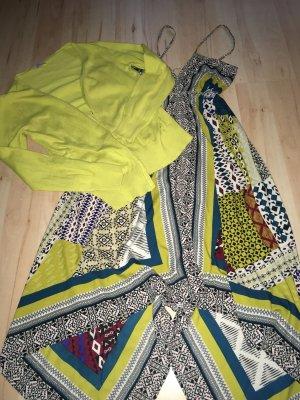 Promod Vestido strapless multicolor