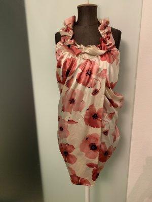 Kleid Sommer von Miss By Valentina Gr 38 M Seiden Optik