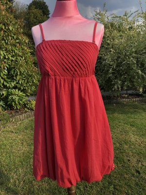 Esprit Babydoll Dress red polyester