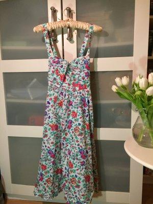 Kleid Sommerkleid Blumen Blutsgeschwister