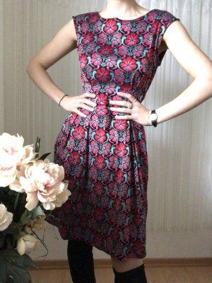 Kleid Sommerkleid Blumenmuster