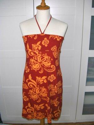 Kleid, Sommerkleid, Blumenmuster, rot, H&M, Gr. S