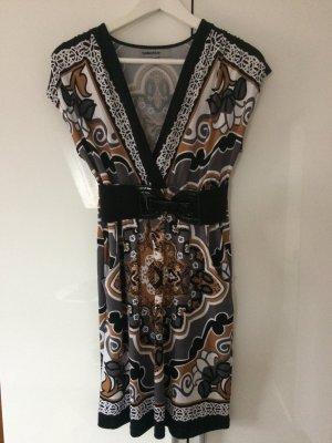 Kleid Sommerkleid Business Muster Größe S