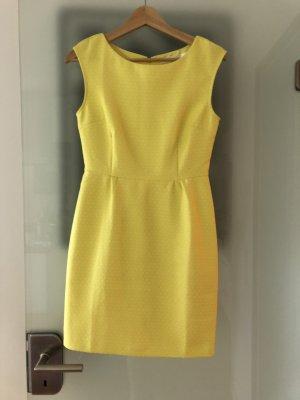 Kleid Sommerkleid Etuikleid in gelb in XS / S
