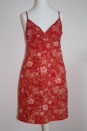 Kleid, Sommerkleid, Gr. 36, in Rot