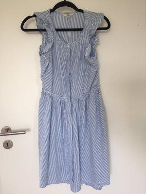 Kleid Sommerkleid mit Rüschen