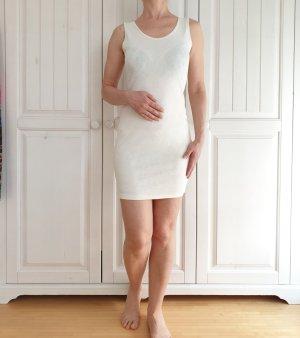 Kleid Sommerkleid rosen XS S weiß babydoll vintage Dress Rock Pimkie