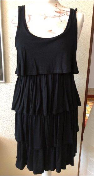Kleid Sommerkleid schwarz S 36
