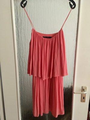 Kleid Sommerkleid von Zara Gr.M Wasserfall TOP