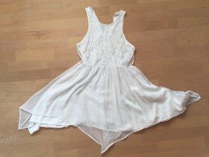 Kleid, Sommerkleid, weiß, kurz, Gr. M, Abercrombie&Fitch - NEU