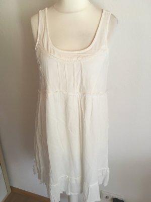 Kleid Sommerkleid weiß luftig sexy Rückenausschnitt NEU mit Etikett Gr. M