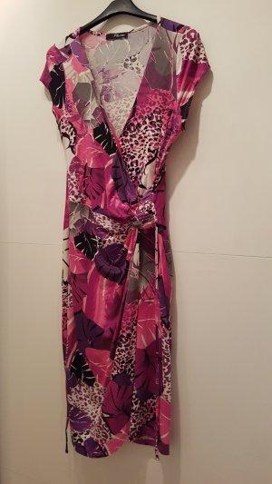 Kleid Sommerkleid Wickeloptik Gr M