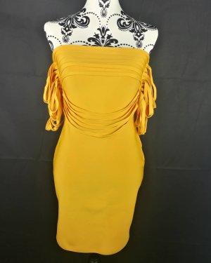 Stretch Dress light orange