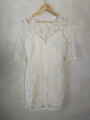 Kleid Spitze Abendkleid Hochzeit Lipsy London Gr. 40