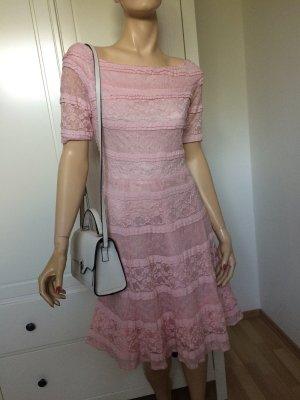 Kleid Spitze Gr.38 rosa neu mit Etikett