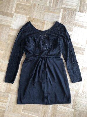 Kleid, Spitze, Gr. 38, schwarz