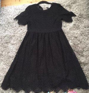Kleid Spitze Gr 40
