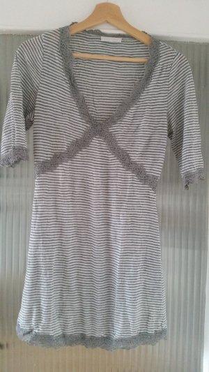 Kleid Spitze Grau Promod S