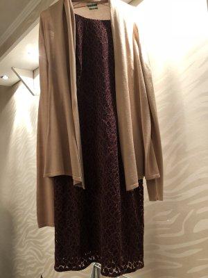 Kleid Spitze in Bordeaux, wie neu Gr. 34 (S. Oliver Selection)