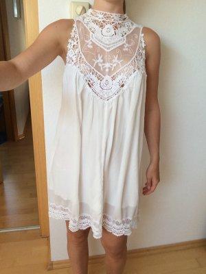 Kleid Spitze LookbookStore Gr. S 36 weiß