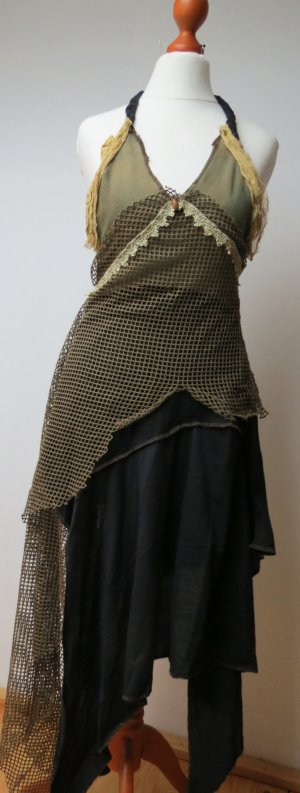 Kleid, Spitze, vintage, Hochzeit, Elfe, Hippie, Boho, Gipsy S