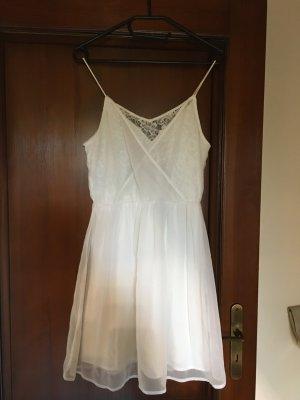 Kleid spitze weiß vero moda 36