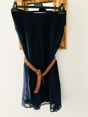 Sportalm One Shoulder Dress blue-dark blue