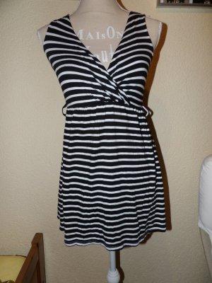Kleid Streifen Kurz Mini 34 XS