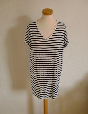 Kleid Streifen Sommer maritim blau weiß Pull & Bear